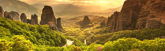 meoteora griekenland natuurgebied