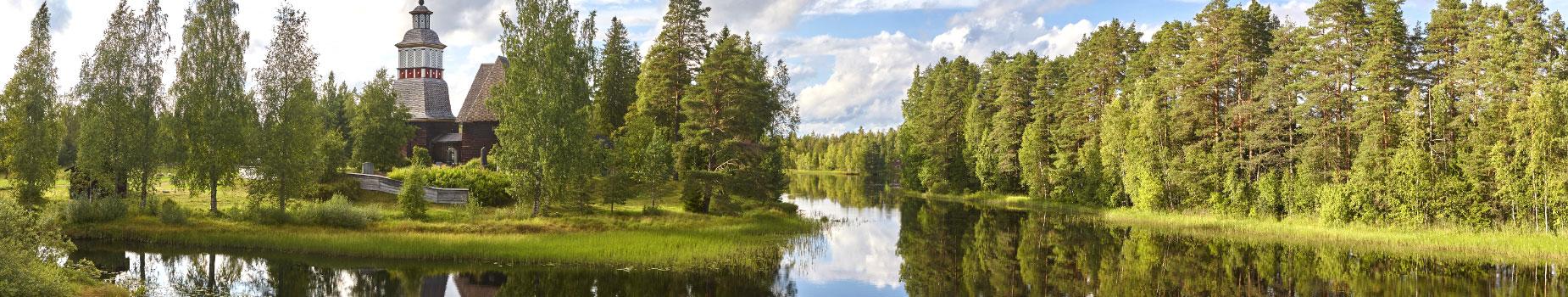 Vlieg busreis Finland