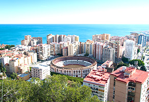 Malaga panorama