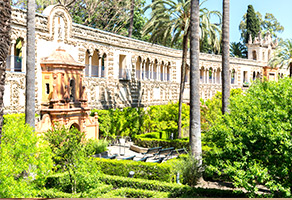 Royal Alcazar in Sevilla