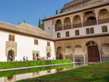alhambra binnenplein