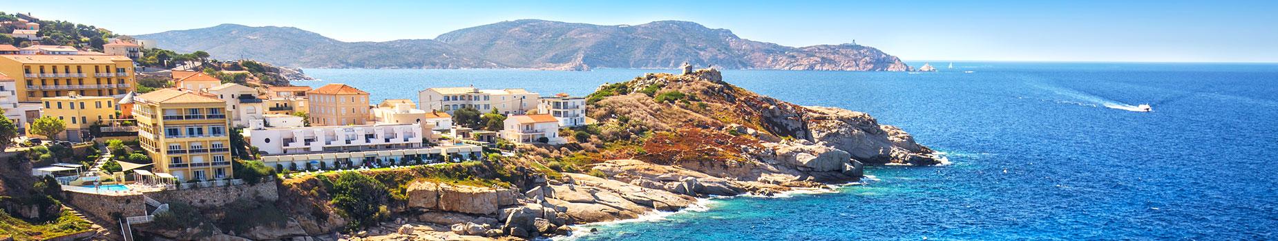 Vlieg busreis Corsica