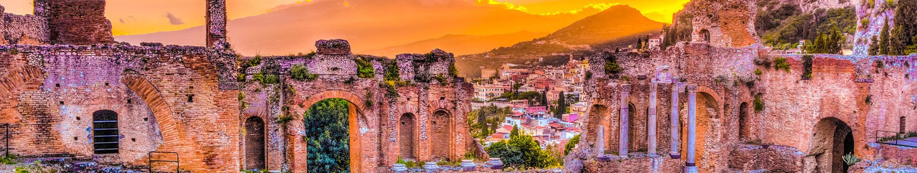 Vlieg busreis Sicilië